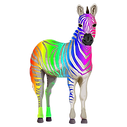 vector-for-zebra-png-png-650_651R-rainbo