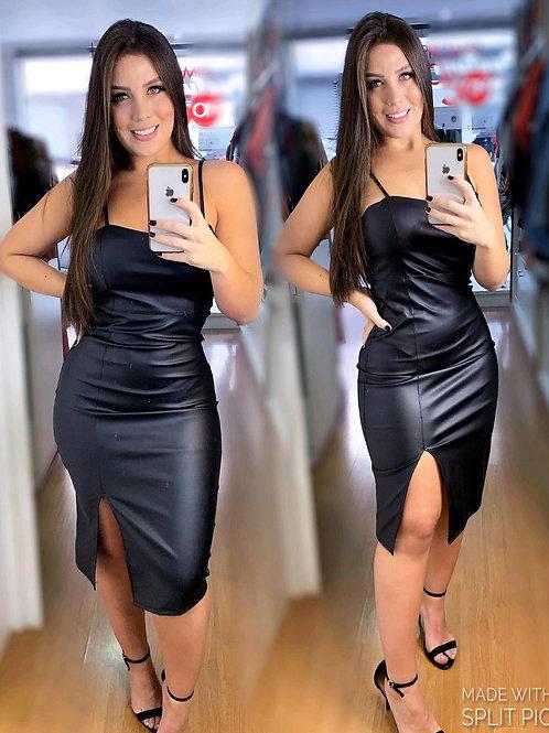 Vestido Mid Courino