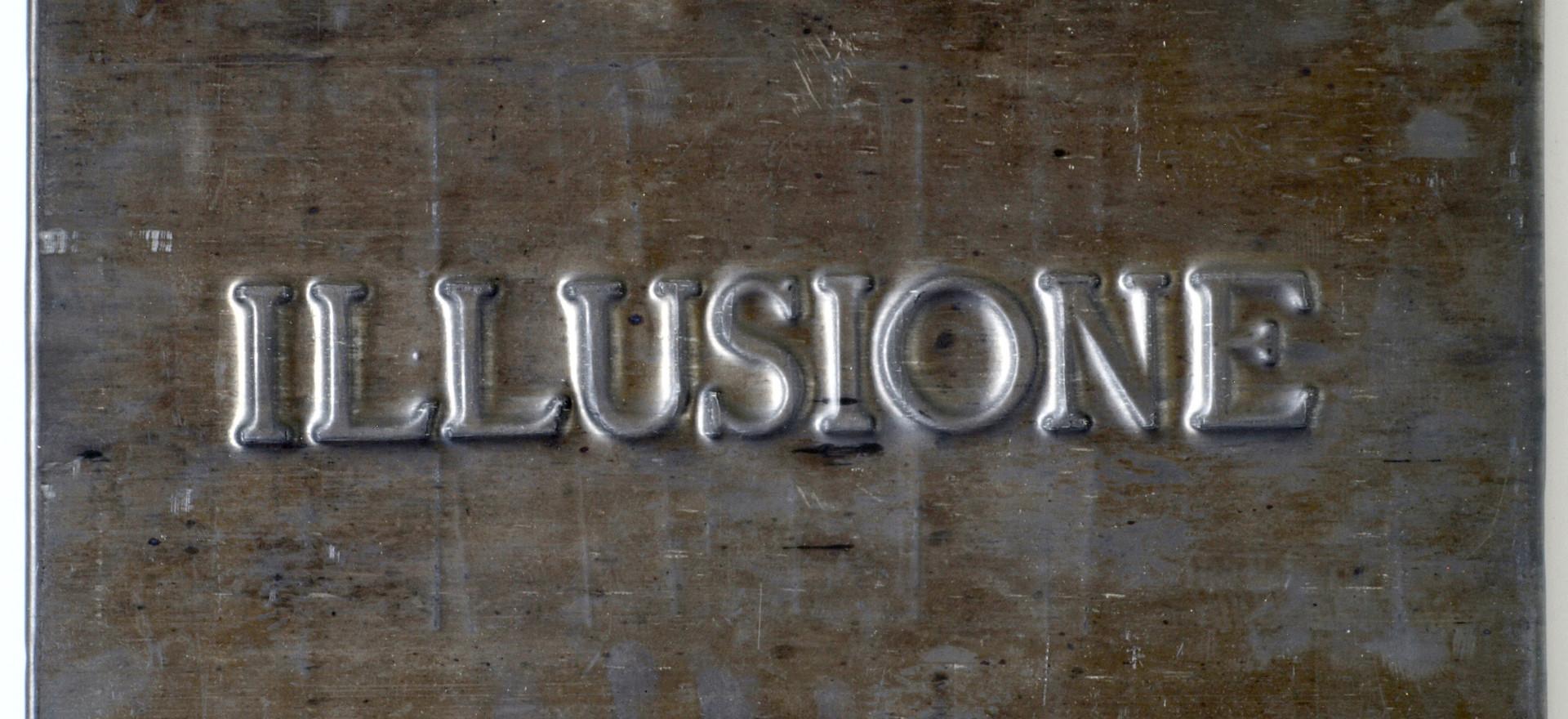 Vittorio Messina, Illusione, 2018, piomb