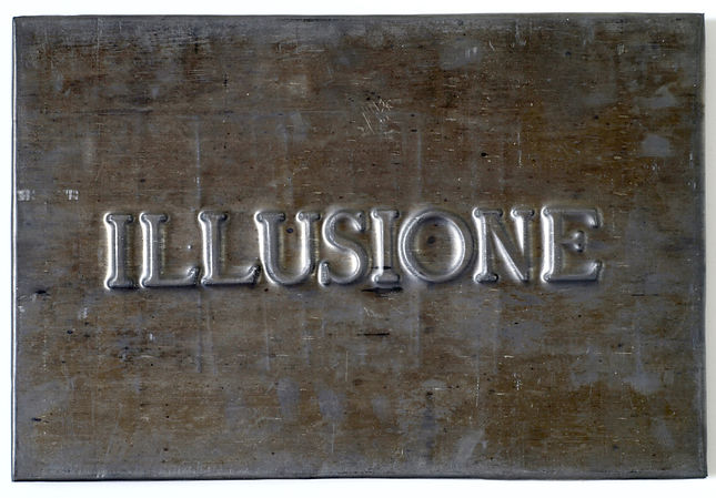 Vittorio Messina, Illusione, 2018, piomb