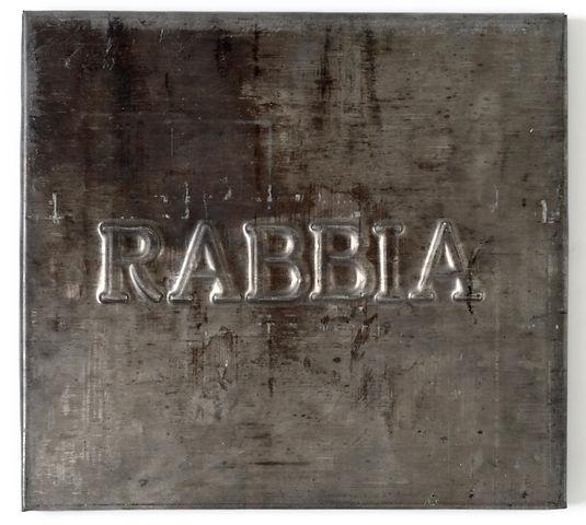 Vittorio Messina,Rabbia, 2018, piombo su