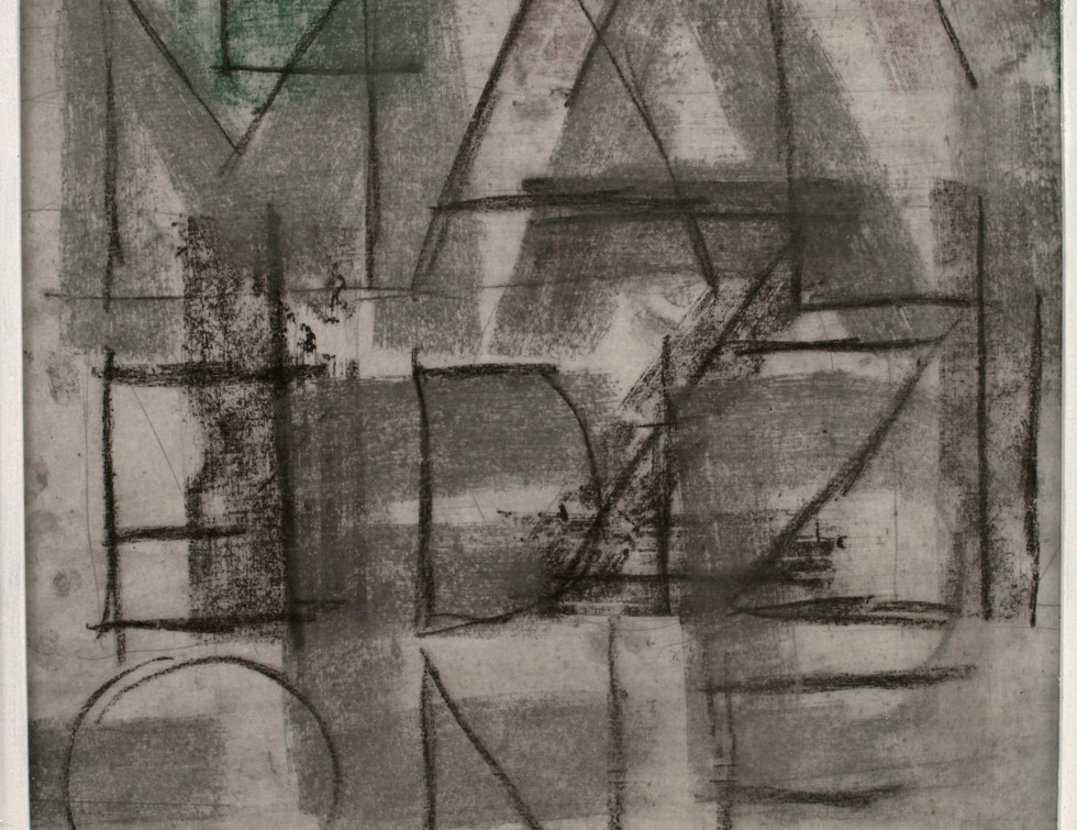 Vittorio Messina, Mal, 2017, disegno, ca