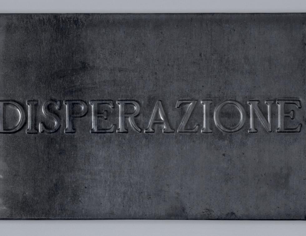 Vittorio Messina, Disperazione, 2018, pi