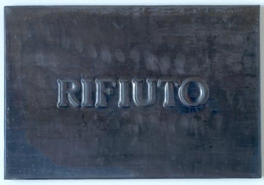 Vittorio Messina, Rifiuto, 2018, piombo