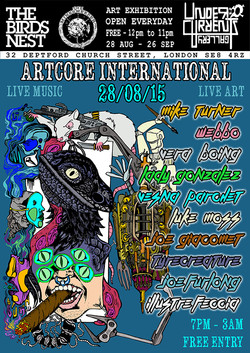 Artcore International Poster
