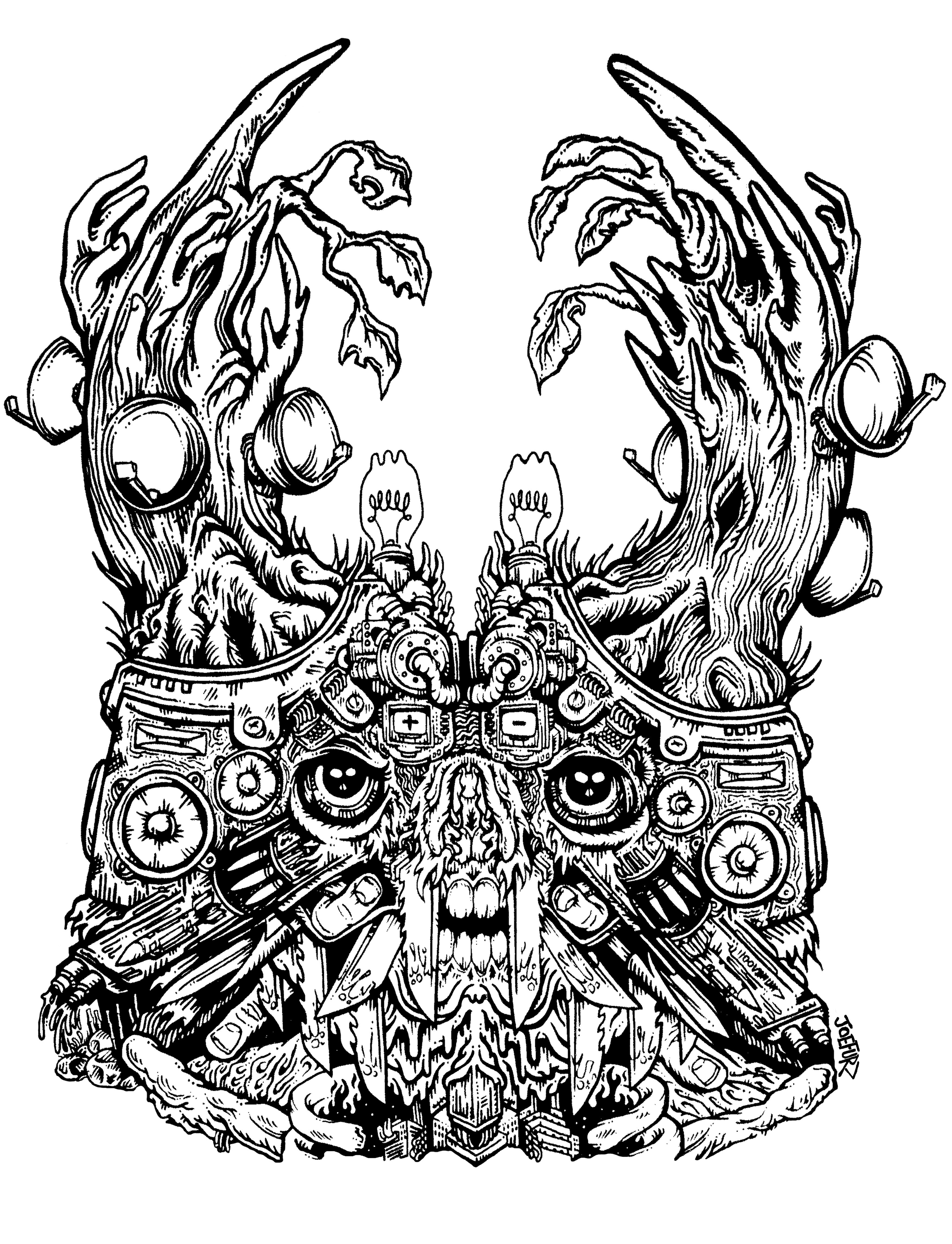'Discordia (Head)' 2016