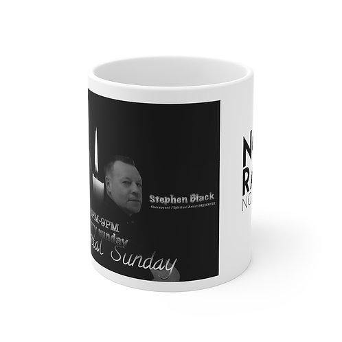 11oz White Mug Sentimental Sunday