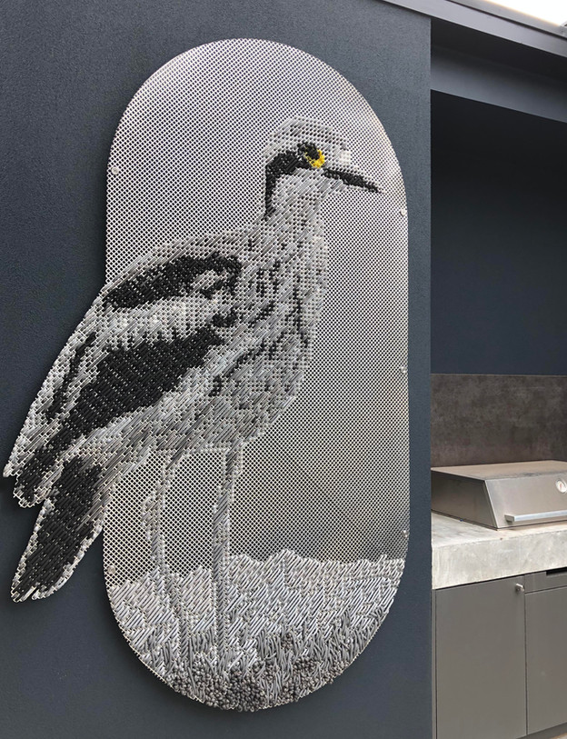 Curlew - outdoor tapestry