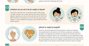 Infografía: Protocolo de sanidad ante coronavirus.