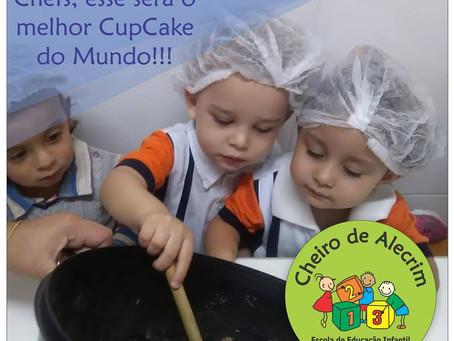 Por que as crianças da escola CHEIRO DE ALECRIM têm aula de CULINÁRIA?