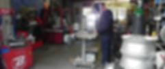 Atelier BF réparations jantes alu et magnésium en France dans la Loire 42