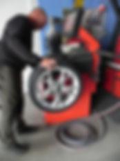Equilibrage de roue