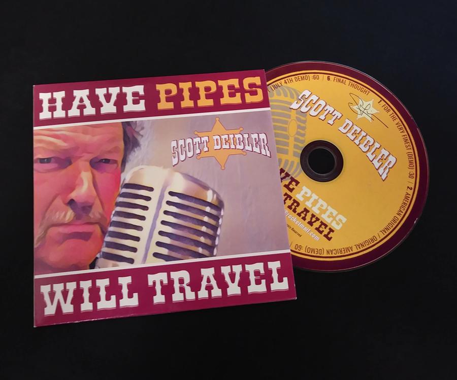 Scott Diebler CD and Sleeve