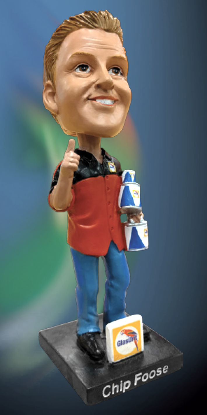 Glasurit / Chip Foose Bobblehead