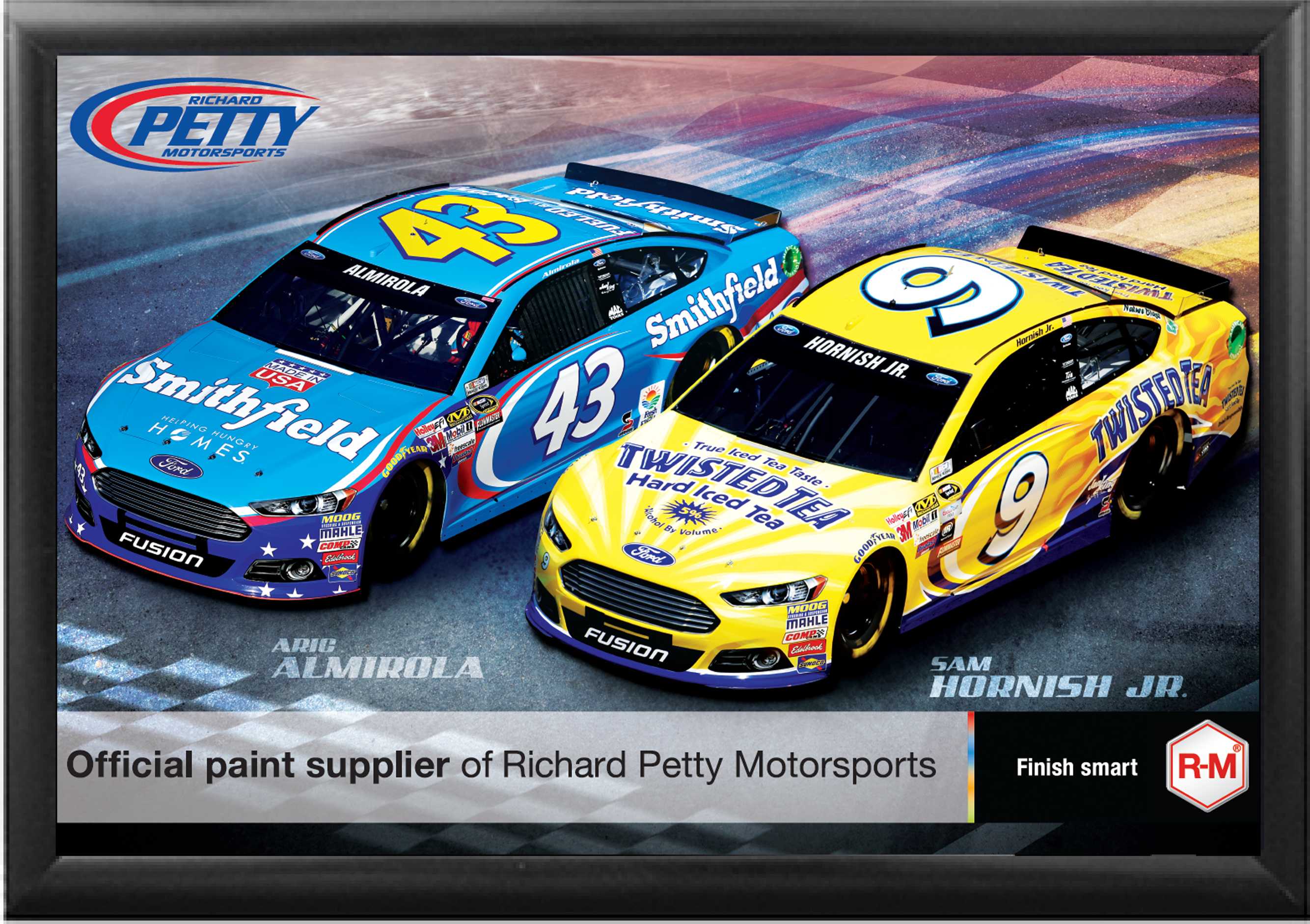 Petty's Garage NASCAR Poster