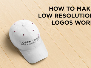 How To Make Low Resolution Logos Work