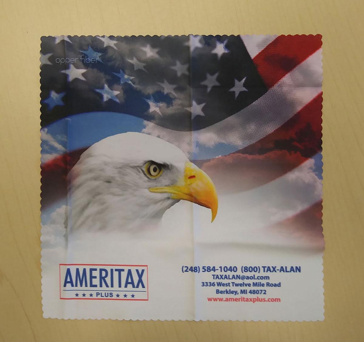 Ameritax Microfiber Cloth