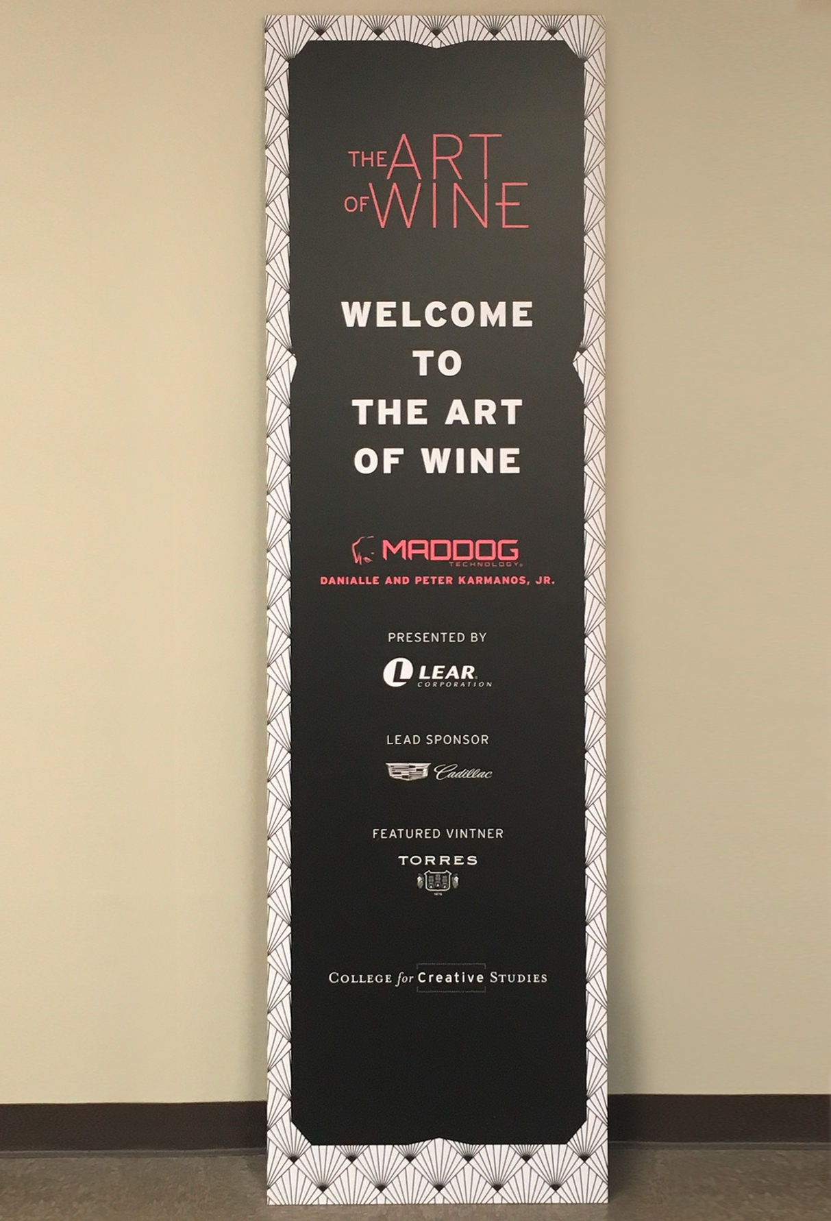 CCS Signage - The Art of Wine