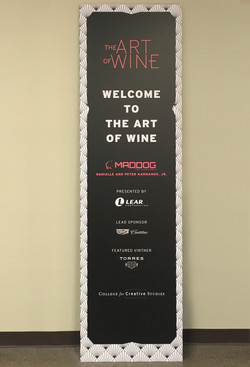 CCS Signage - The Art of Wine