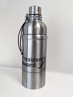 President's Award Bottle