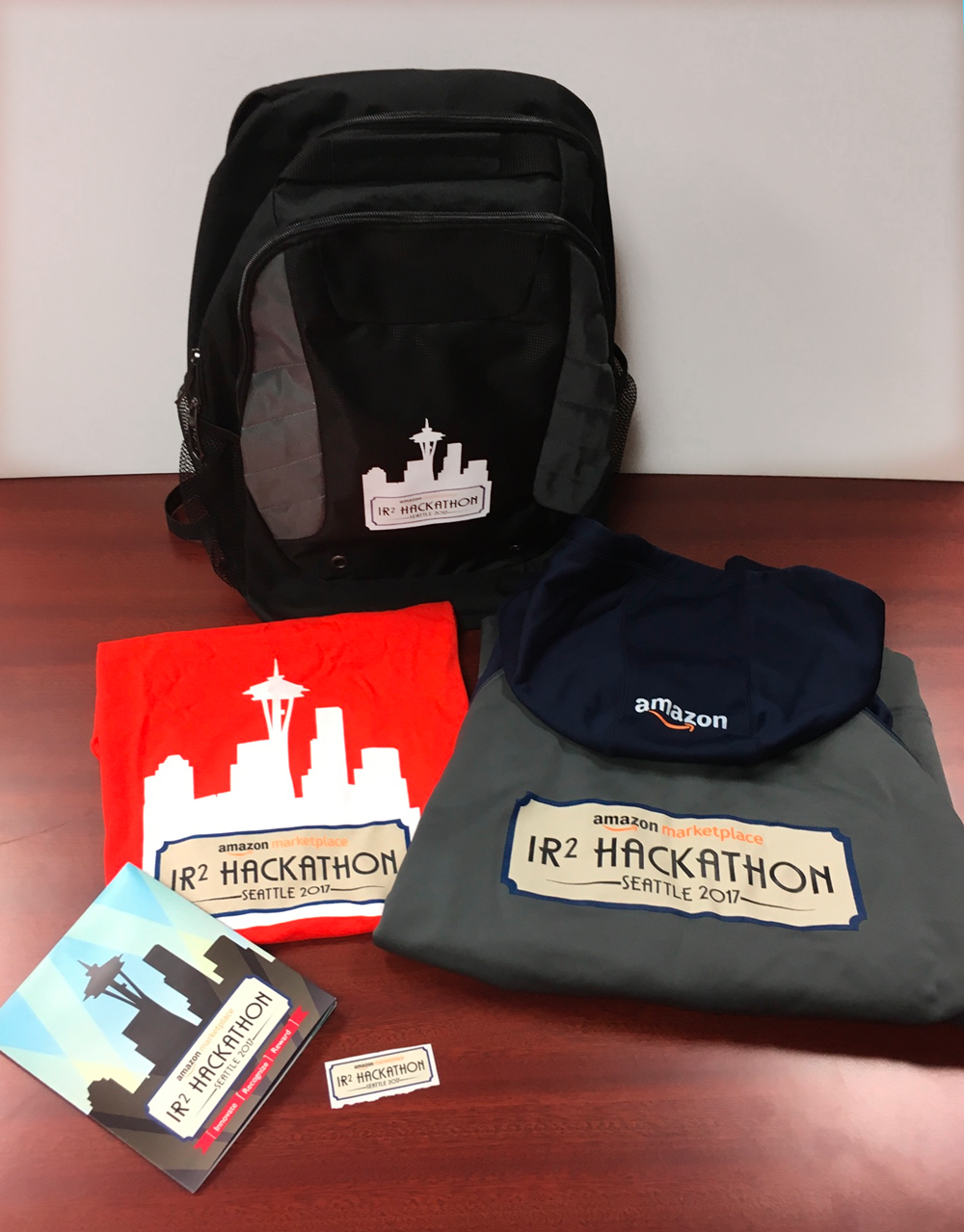 Amazon Seattle Hackathon Promo Items
