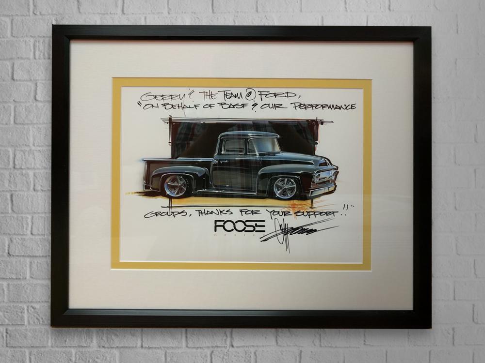 Framed Foose Rendering