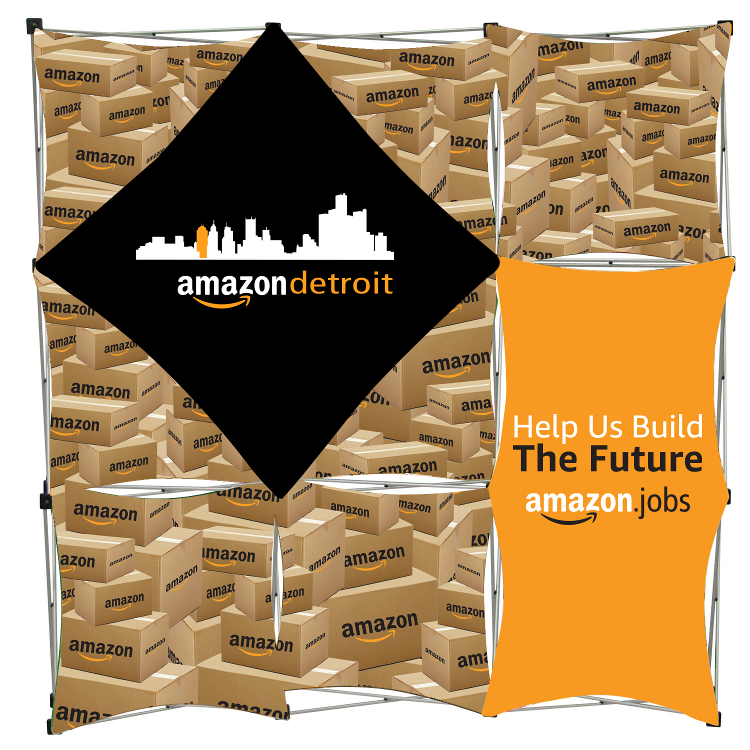 Amazon Geomatrix Banner Display