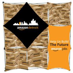 Amazon Geomatrix Banner Display