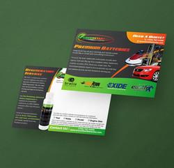 GreenStart Batteries Mailer