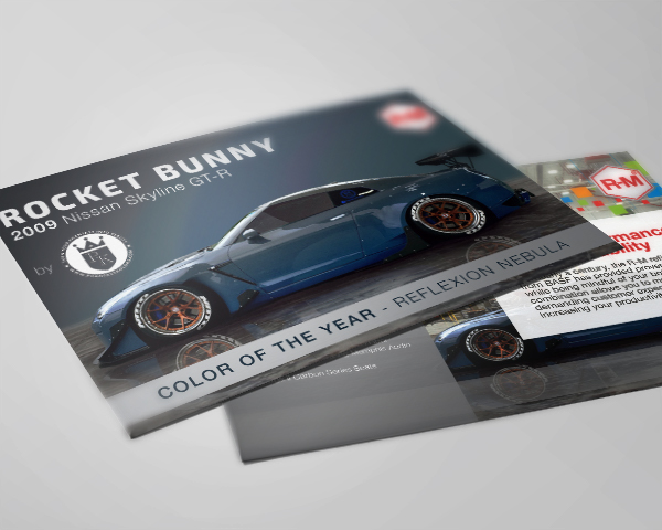 2016 SEMA Color Of The Year Card
