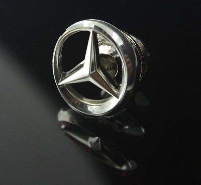 Mercedes Benz Lapel Pin