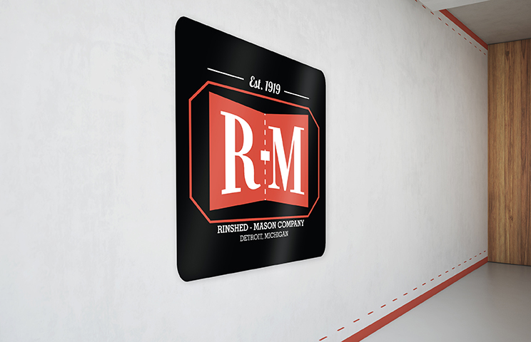Retro R-M Tacker Sign