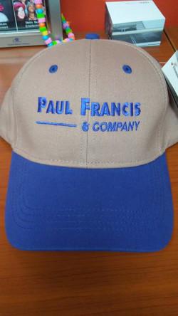 Paul Francis & Co. Cap