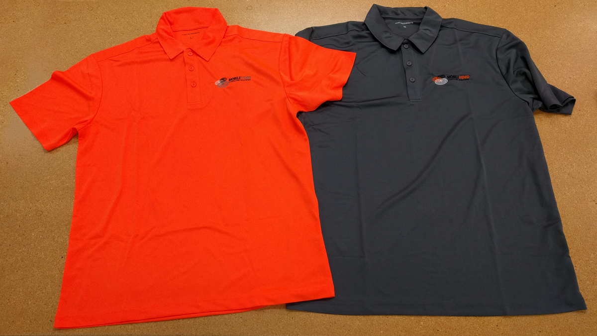 Mobile Video Polo Shirts