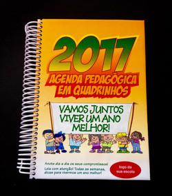 Agenda Pedagógica em Quadrinhos 2017