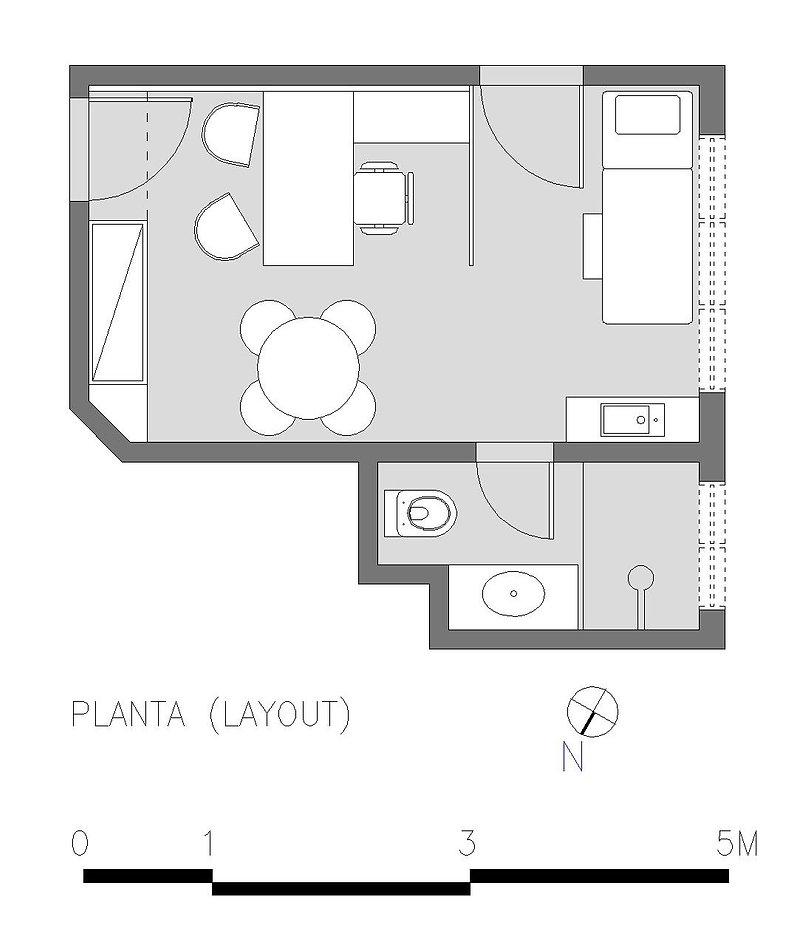 PLANTA LAYOUT - CONSULTÓRIO MÉDICO (SITE