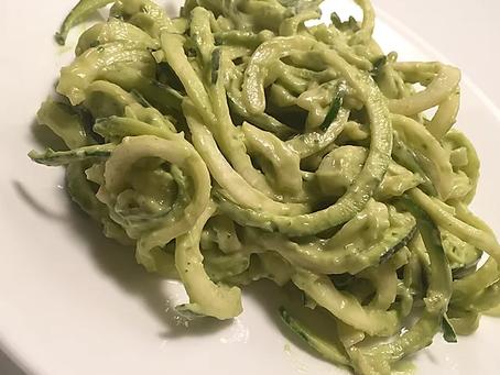 Avocado Pesto Zoodles