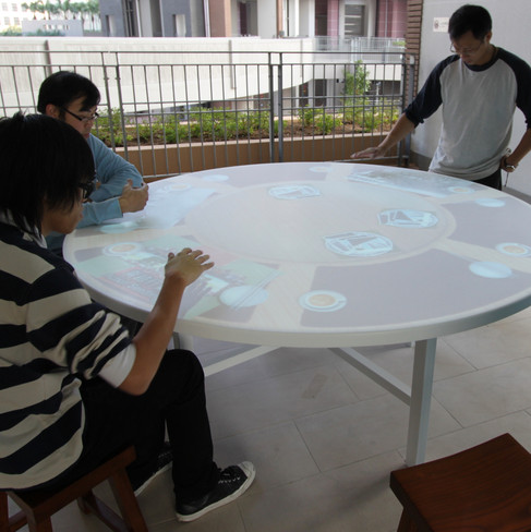 Lam Tin Estate- Interactive Table
