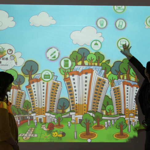 Lam Tin Estate- Interactive Wall