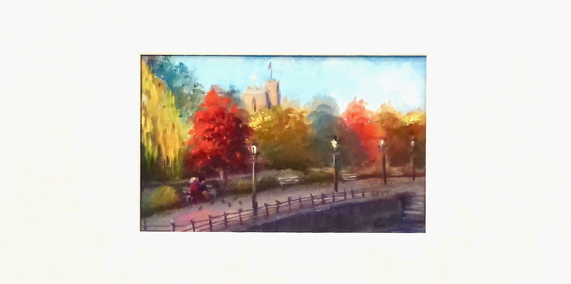 Autumn Embankment