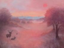 'Morning Glow' 60cm x 60cm 2021 SOLD