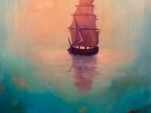 'Ghost Ship' 80cm x 80cm 2021