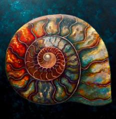 'Ammonite II'. SOLD