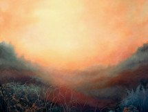'Prophecy - Beyond the Bracken' 100cm x 100cm 2021
