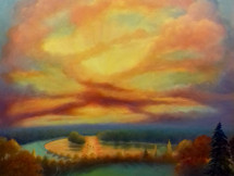 'Thames Glow' SOLD