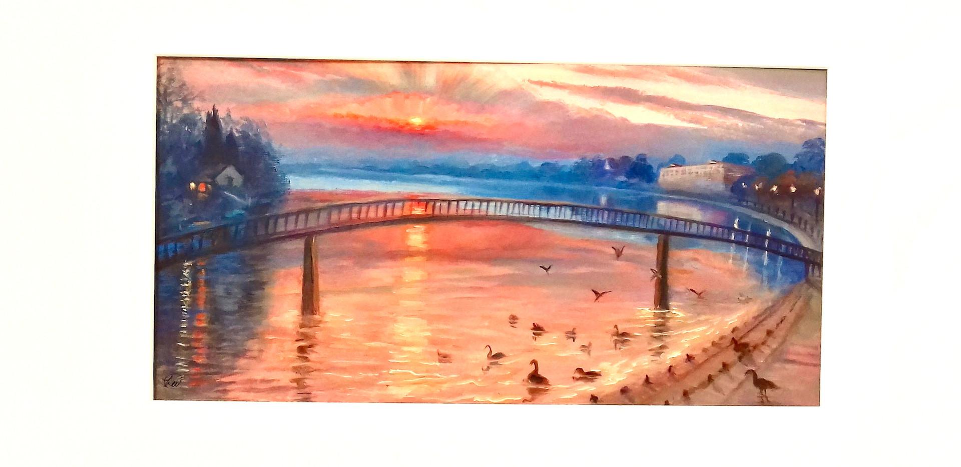 Twickenham Sunset