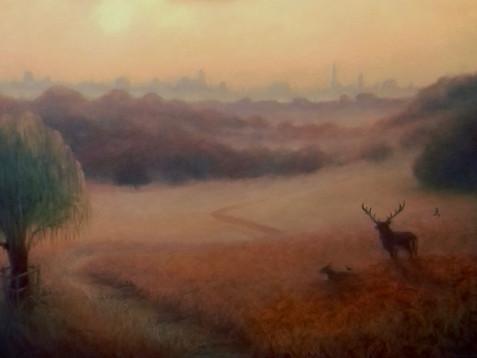 Richmond Park - London View