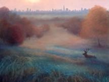 'Morning Mist Richmond Park'