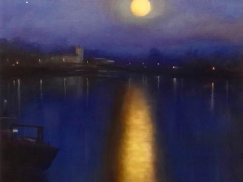 'Nocturne - Old Isleworth'