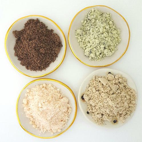 Body Scrub or Powdered Bodywash sample packs